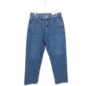 American Eagle Mom Straight Leg Jeans NWT 12